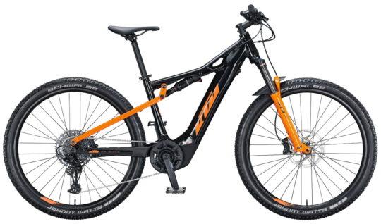 KTM MACINA CHACANA 293 M43metallic black (orange)Sram SX 12 + BOSCH PT-CX6P4