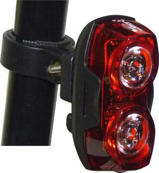 blikačka zadní SMART 321R 2x Nichia LED 80LM