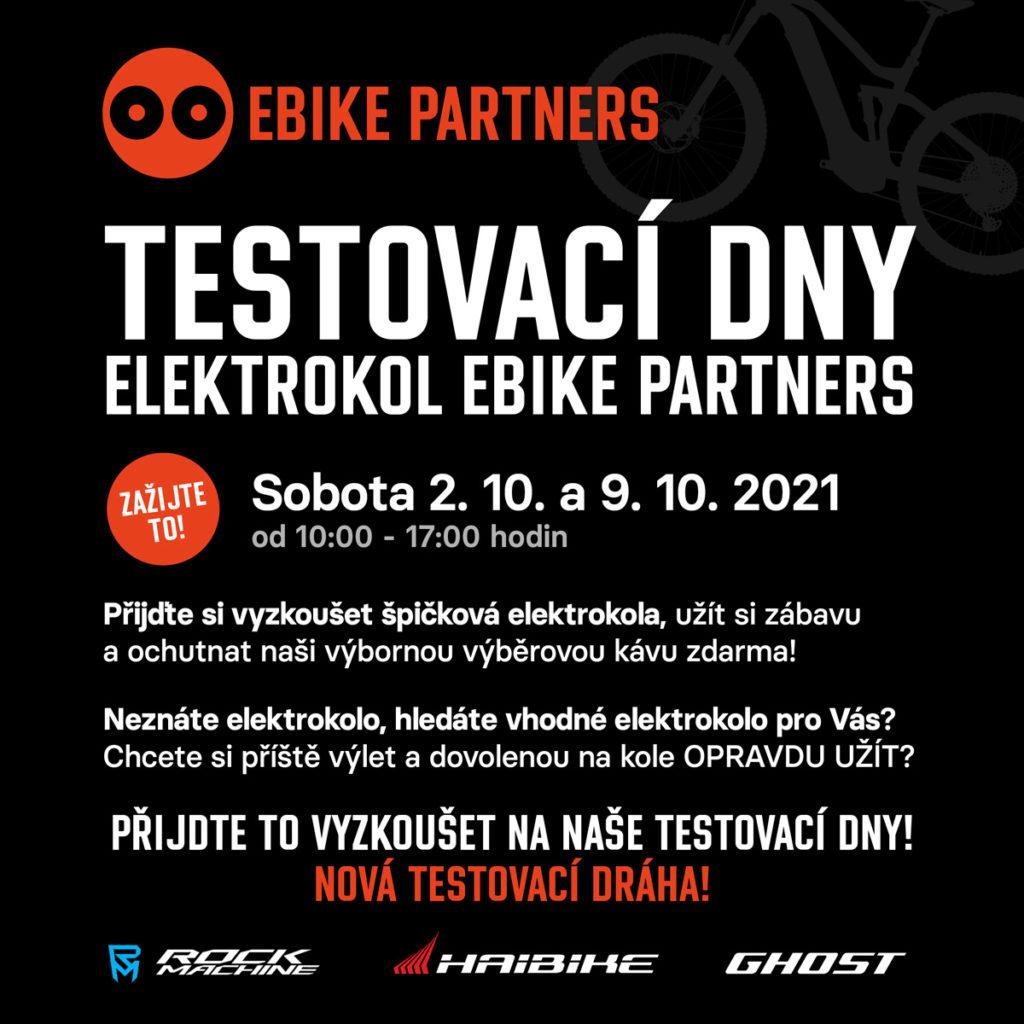 Testovací dny Ebike Partners